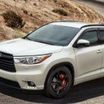 Toyota Highlander All Models Engine Oil Capacity