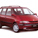 Renault Grand Espace III, J66 Engine Oil Capacity