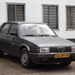 Alfa Romeo 90 (1984 – 1988) Engine Oil Capacity