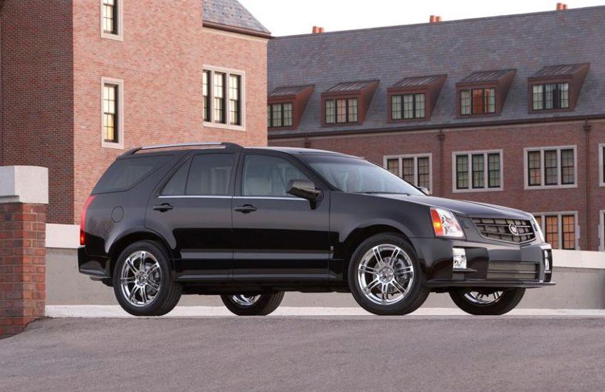 Cadillac SRX Engine oil capacity