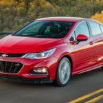 Chevrolet Cruze Engine Oil Capacity (USA)