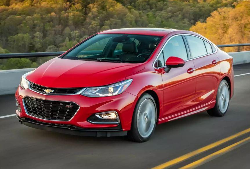 Chevrolet Cruze engine oil capacity