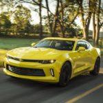 Chevrolet Camaro Engine Oil Capacity (USA)