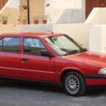 Alfa Romeo 33 (1983 – 1994)  Engine Oil Capacity